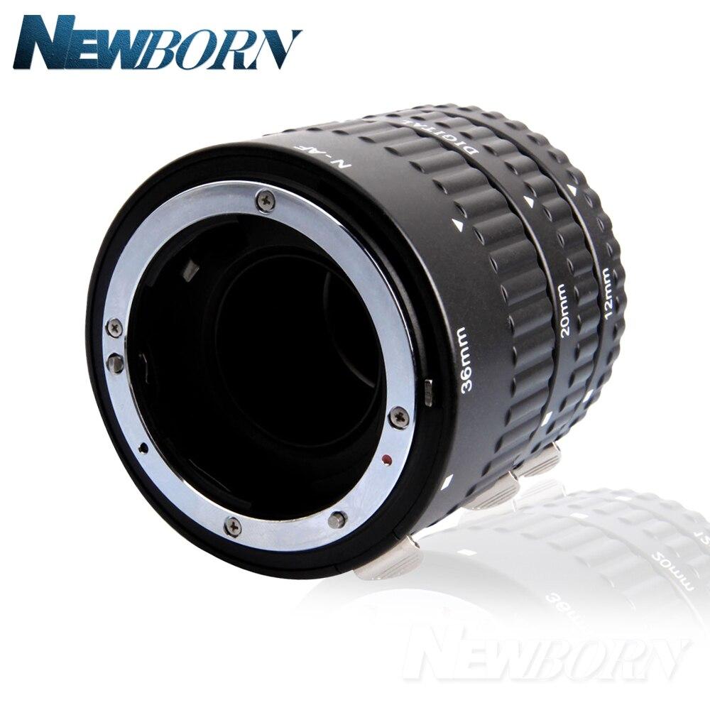 Meike Autofocus D'extension Macro Tube Anneau pour Nikon D7500 D7200 D5600 D5500 D5300 D3400 D3300 D850 D810a D750 D5 D4 Caméra - 2