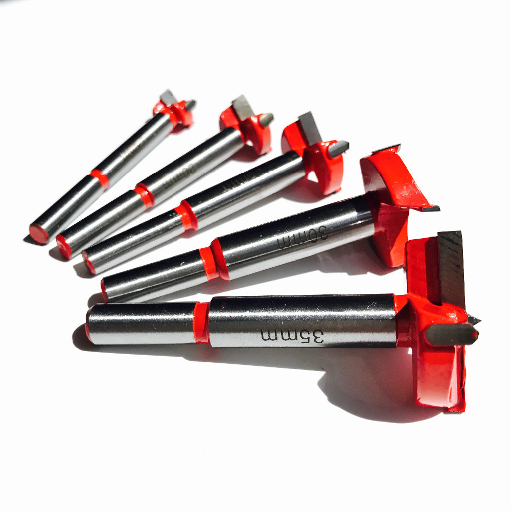 5PCS din 15/20/25/30 / 35MMTCT Articulațiună de tăiere a găurii de foraj pentru găuri de foraj Set de cuțit cu carbură de wolfram.