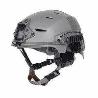 2019 EXFLL Tactical Bump Helmet Rapid Reaction Tactical Helmets BK Color for Paintball Airsoft and Hunting Cycling Motorcycle|Ski Helmets|   -