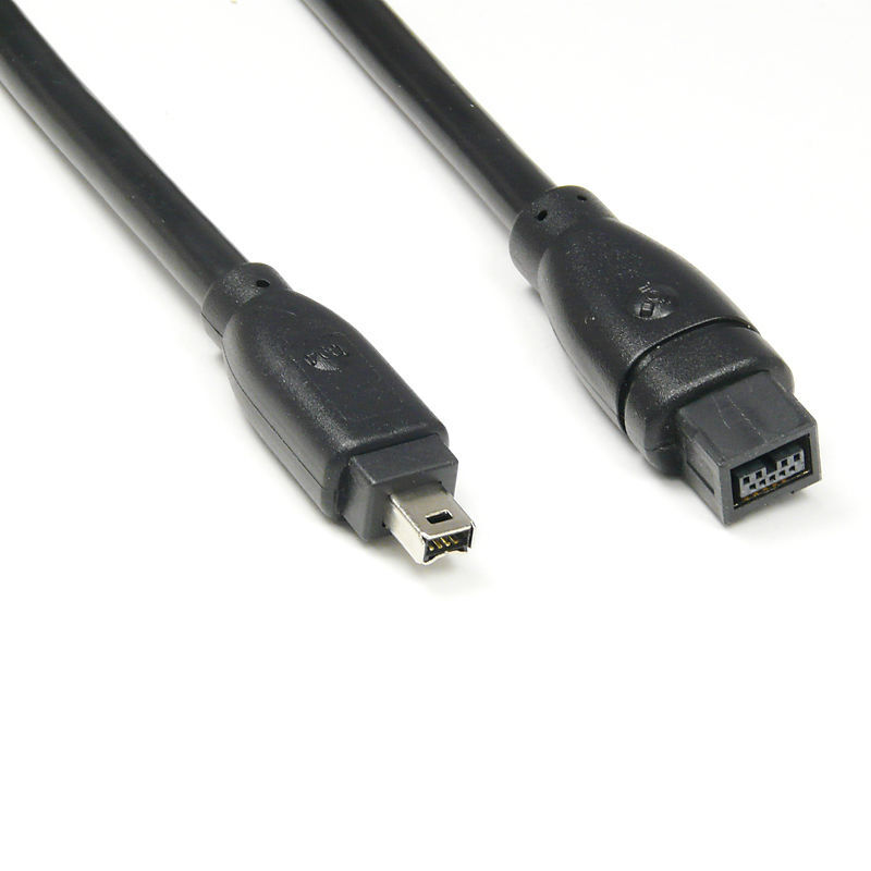 Firewire IEEE 1394 Cable 9PIN TO 4PIN 1394B 400 To 800 Firewire ...