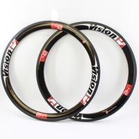 2Pcs Newest Light 700C 50mm Tubular Rims Road Bike Aero UD Full Carbon Fibre Bicycle Wheels