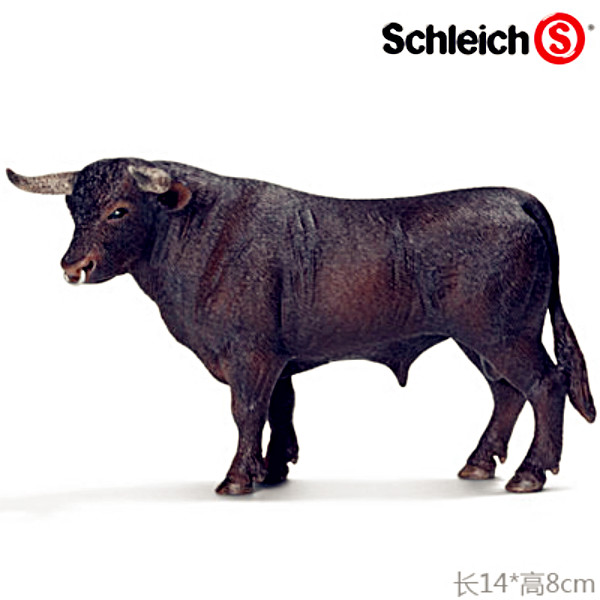 Brand New Animals Action Figure Toys Black Bull 14cm Length PVC Figure Model Toy for Gift/Collection/Kids/Decoration brand new dc cartoon action figure toys aquaman 24cm pvc classical figure model toy for gift kids collection free shipping