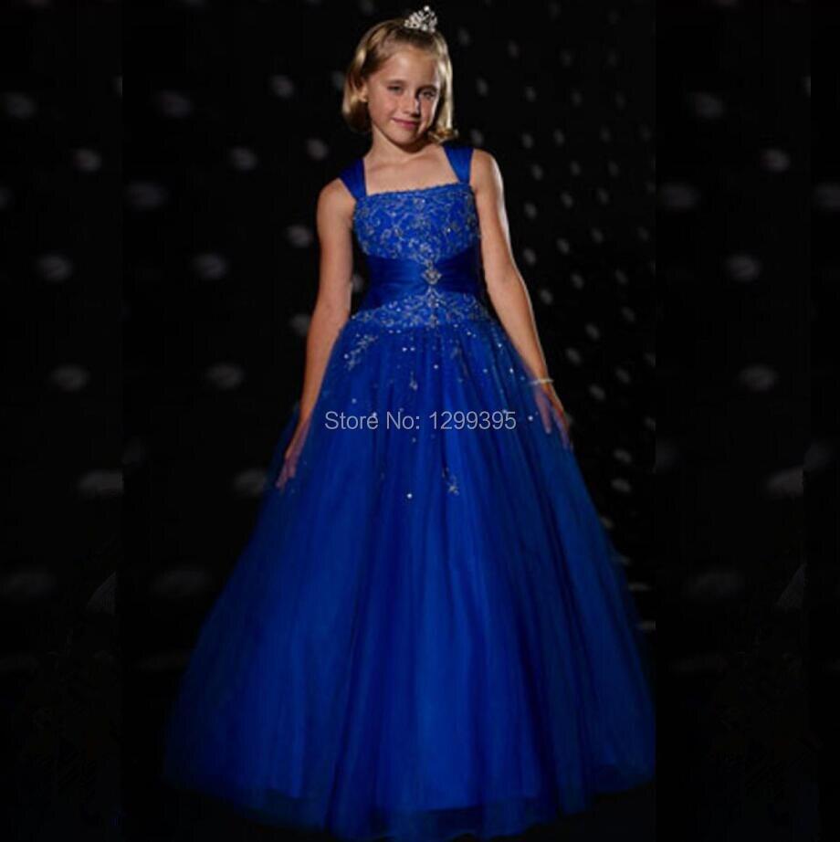 Images of Royal Blue Junior Dresses - Asianfashion