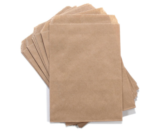 600 pcs 4x6 inches Cute little Brown Kraft Paper Bags Candy Gift Paper Bags 10X 15 cm for gifts,jewelry, soap, toys merchandise