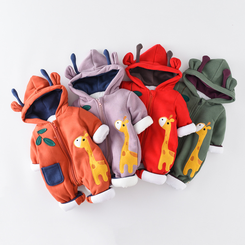 Baby Boy Girls Rompers Baby Boy Suits Kids Cartoon Jumpsuits Clothing Autumn And Winter Baby One-pieces Clothes 2016brand baby boy