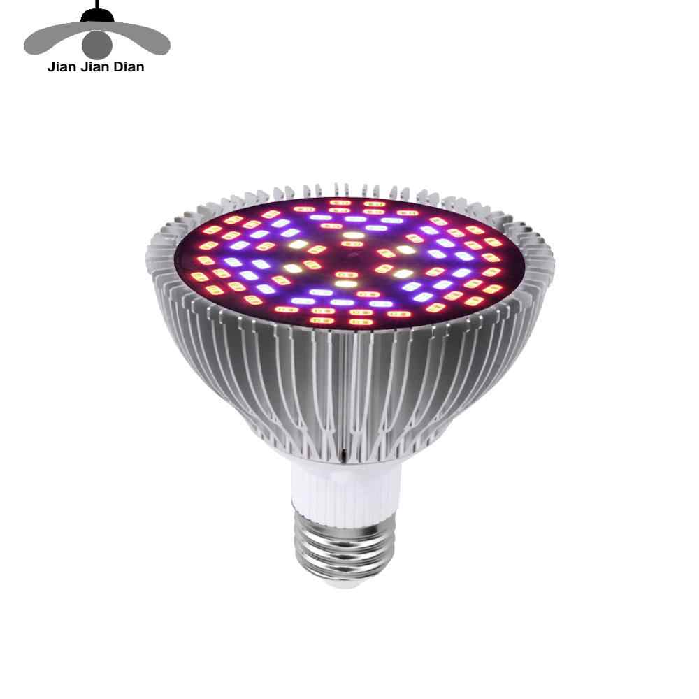 Full Spectrum cfl LED Grow Light Lampada E27 E14 MR16 GU10 IR UV Indoor Plant Lamp Flowering Hydroponics System Garden 110V 220V