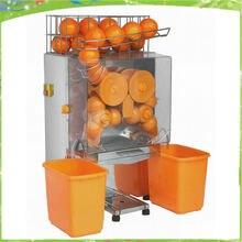 Бесплатная доставка Высокая емкость коммерческий оранжевый соковыжималка