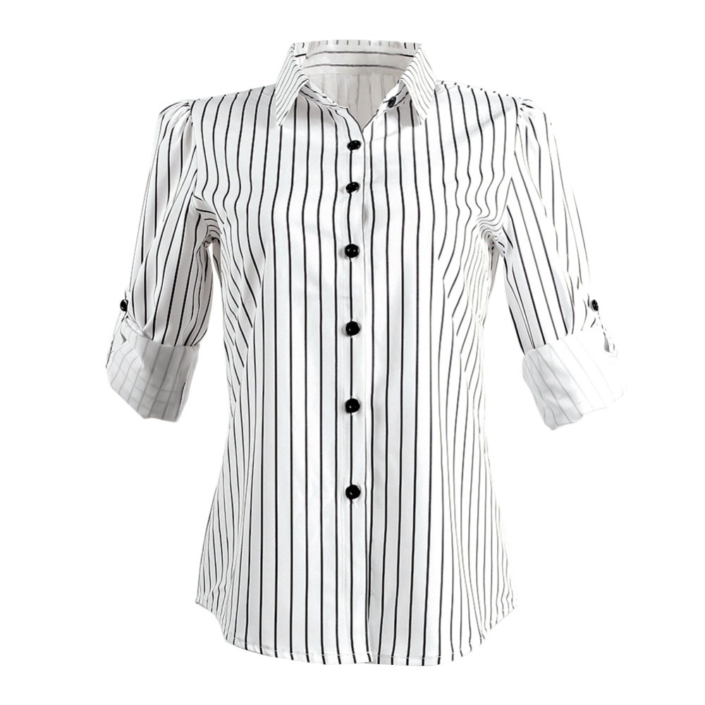 04ab4d2e64f Black And White Striped Shirt Womens Vertical - raveitsafe