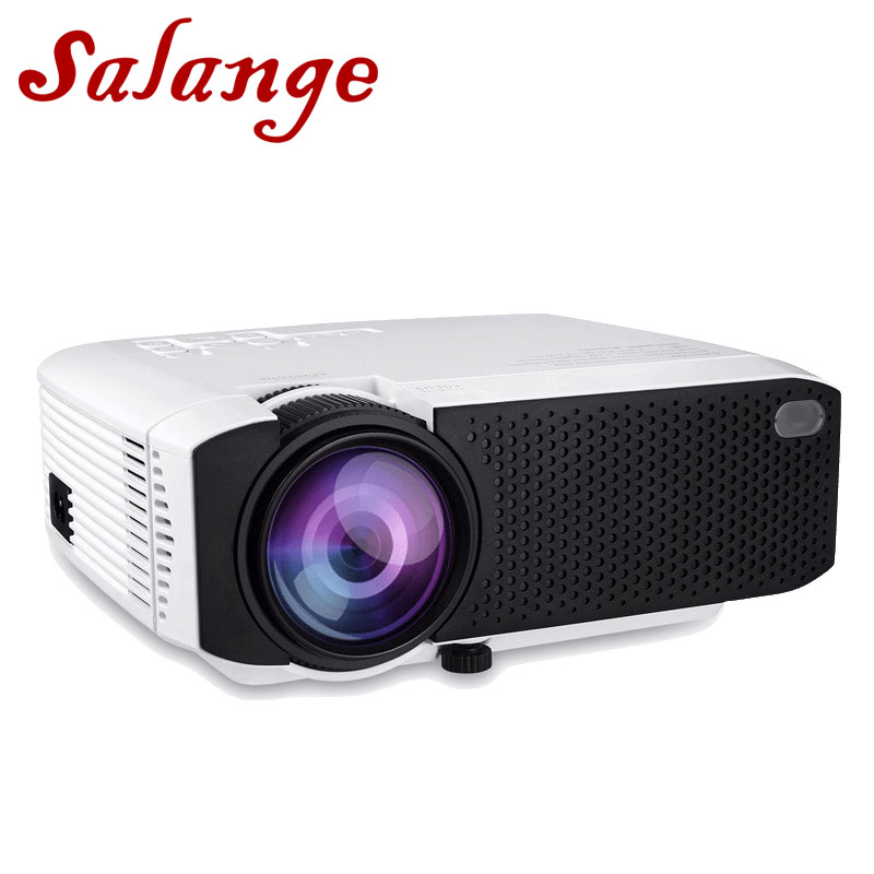 Salange T20 LED Portable Mini Projector,Set in Android 7.1 WiFi Bluetooth,TF USB,Support 1080P Movie Beamer,LED Proyector