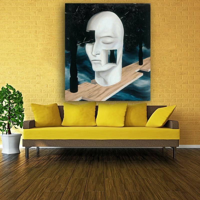 Classic Art Collection Oil Painting Prints On Canvas Rene Magritte ...