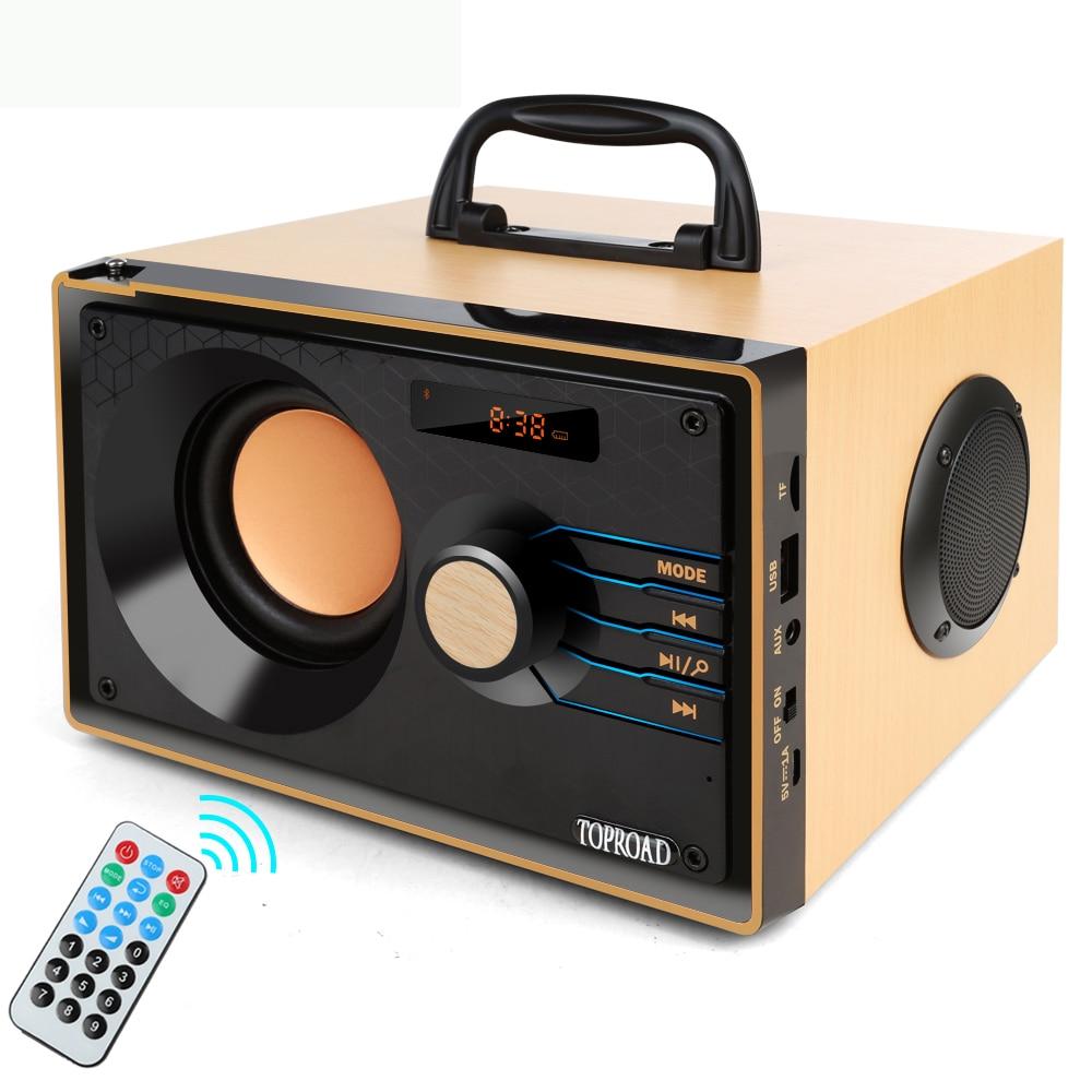 Portable Bluetooth Speaker Wireless Speaker Stereo Subwoofer Music Audio Player