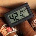 Venda quente Original de charuto higrômetro eletrônico de temperatura umidade portátil especial