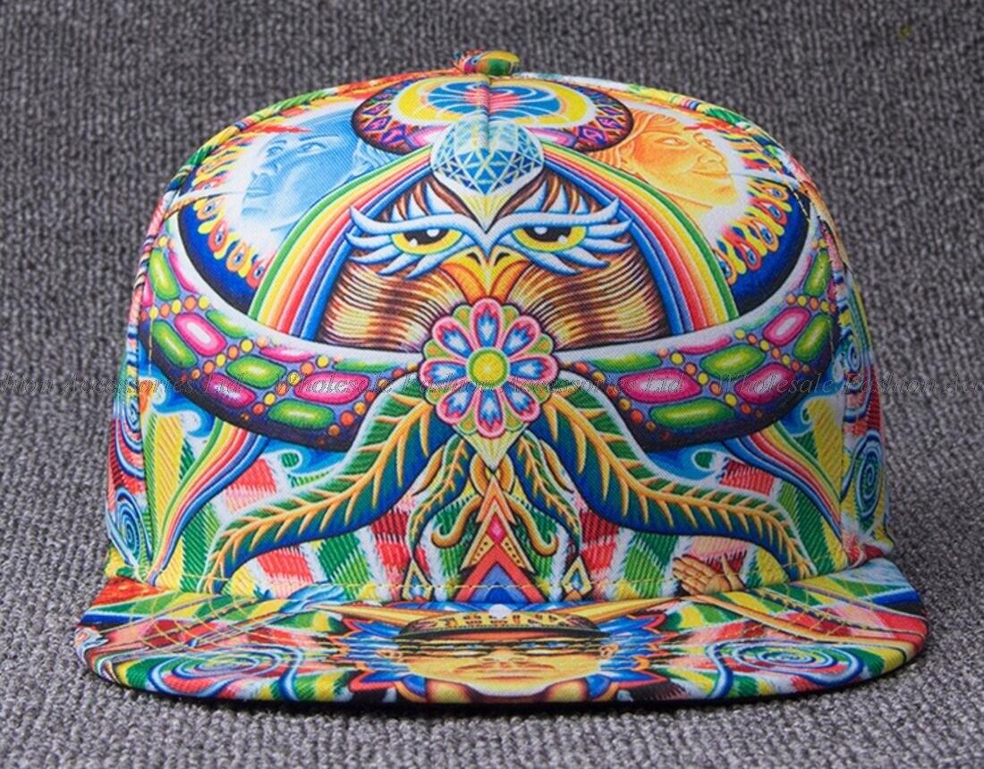5ba211a9dc9 ▽5pcs lot Wholesale Printing Flat Brimmed Snapback Hats NEW Fashion ...