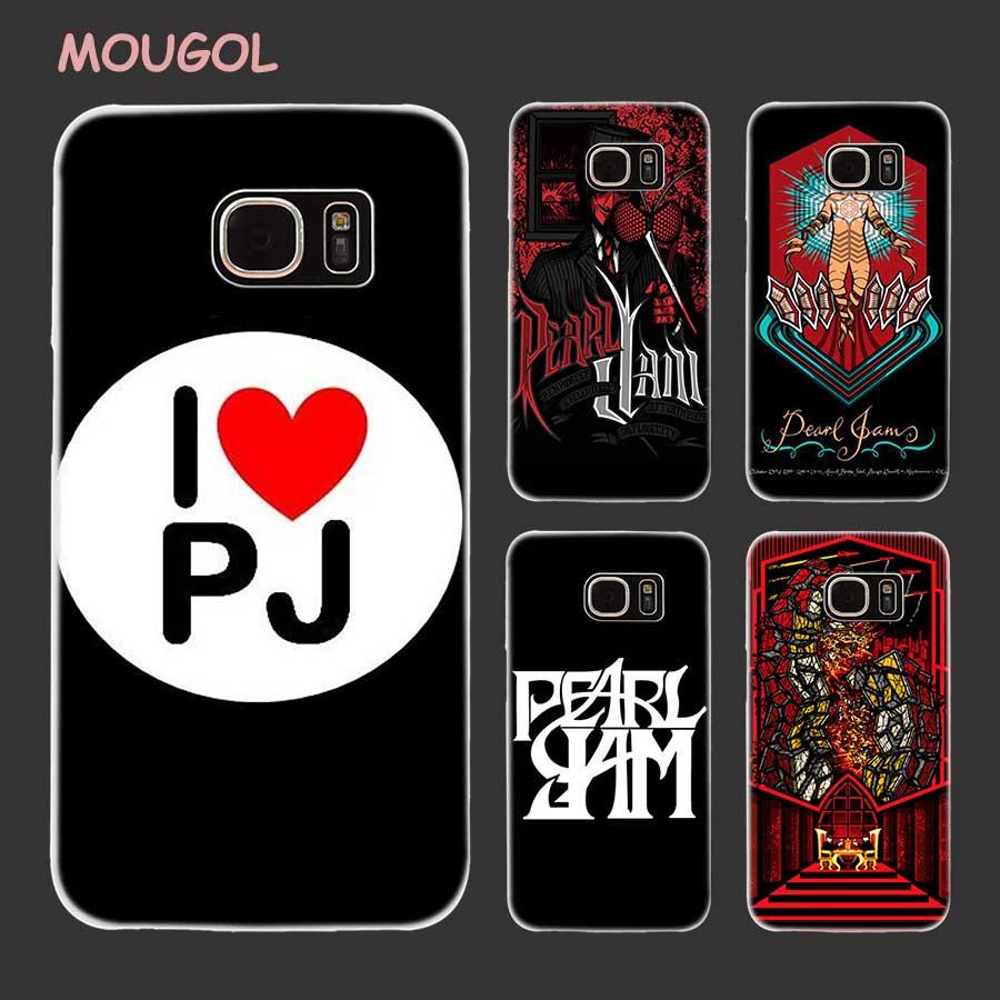 Mougol жемчуг Варенье PJ дизайн прозрачный Футляр для Samsung Galaxy S8 S7 S6 S5 S4 Edge Mini плюс Примечание 8 5 4 3