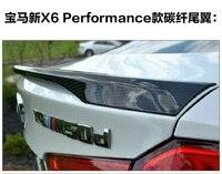 تناسب ل bmw x6 f16 الأداء ألياف الكربون المفسد