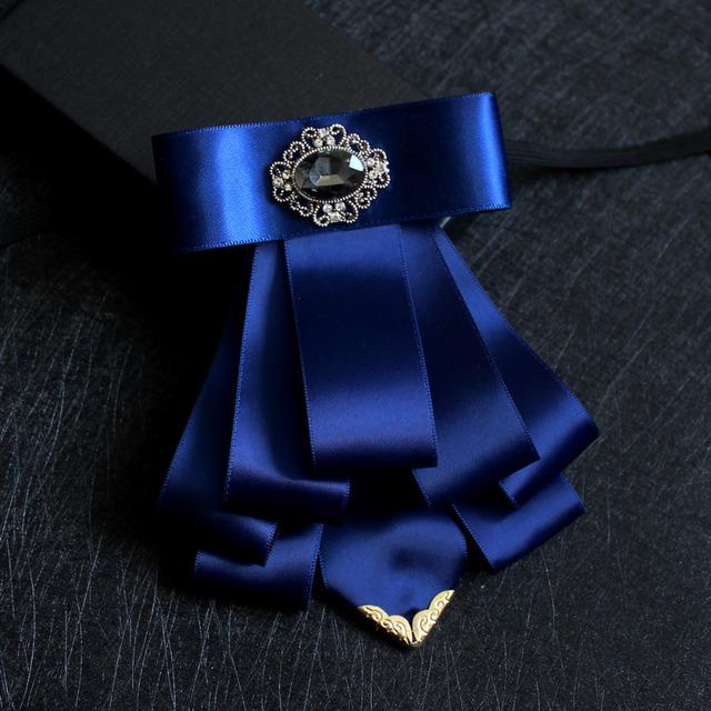 Novo Frete Grátis casar com o noivo padrinho de casamento Dos Homens da moda masculina Coreano vestido de gola laço colarinho da camisa anfitrião estilista em venda