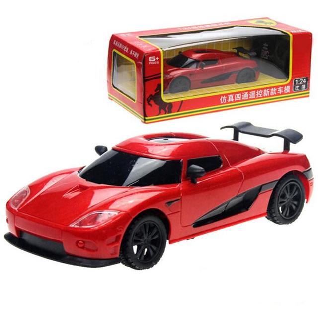 Rc toys modelo de carro 1:24 de controle remoto rc carro elétrico brinquedo do miúdo crianças controlador de rádio máquina de automóveis sem caixa original