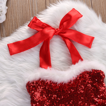 New Baby Girl Rompers Dress Santa 2018 1