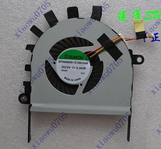 New CPU Fan for Acer Aspire V5 V5-551g V5-551 laptop Cooling Fan P/N EF50060S1-C100-G99