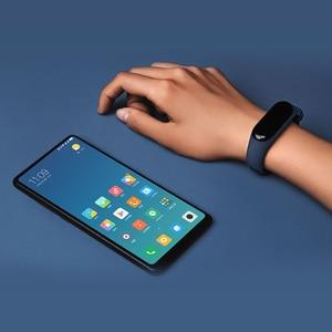 Image 4 - Originale Xiaomi Mi Banda 3 Intelligente Wristband Bracciale Fitness MiBand Fascia 3 Grande Touch Screen OLED Messaggio della Frequenza Cardiaca in Tempo smartband