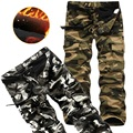 Size29-40 Cotton 100% Novelty Loose Casual Men Cargo Baggy Trousers Military Army Men Camouflage Pants Pantalones Hombre