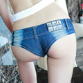 613 Summer Hot New Fashion Sexy Super Mini Shorts Ladies Thong Short Jeans Feminino Preto Denim Shorts Women Sexy Micro Shorts