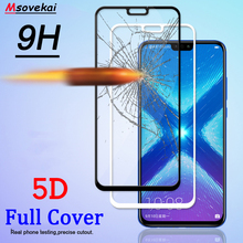For Huawei Honor 8X 6.5 inch Honor8X 2.5D 3D 4D 5D 9H Full Cover Tempered Glass Screen Protector Film Protective