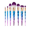 4/5/7pcs Colorful Makeup Brushes Set Foundation Blending Powder Blusher Lip Eyeliner Cosmetics Brush Tool Pinceaux Maquillage