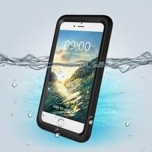 Для iPhone 7 Plus 10 м подводный Водонепроницаемый PC + TPU чехол для iPhone 7 с отзывчивой Кнопки Fundas
