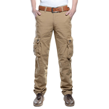 Newest Mens Cargo Trousers More Pocket Long Pants Military Casual Designer Army Combat Pants Fashion Collection High Quality Mid