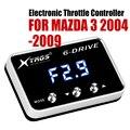 Автомобильный электронный контроллер дроссельной заслонки гоночный ускоритель мощный усилитель для MAZDA 3 2004-2009 дизель 1.6L Тюнинг Запчасти а...