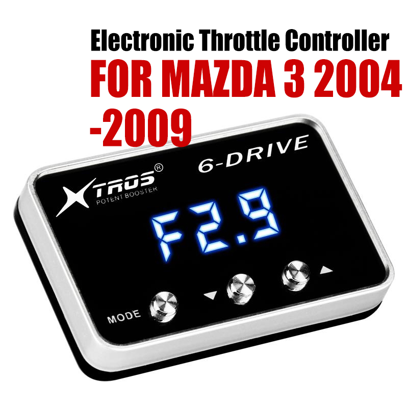 Car Electronic Throttle Controller Racing Accelerator Potent Booster For MAZDA 3 2004-2009 DIESEL 1.6L  Tuning Parts Accessory Car Electronic Throttle Controller Racing Accelerator Potent Booster For MAZDA 3 2004-2009 DIESEL 1.6L  Tuning Parts Accessory