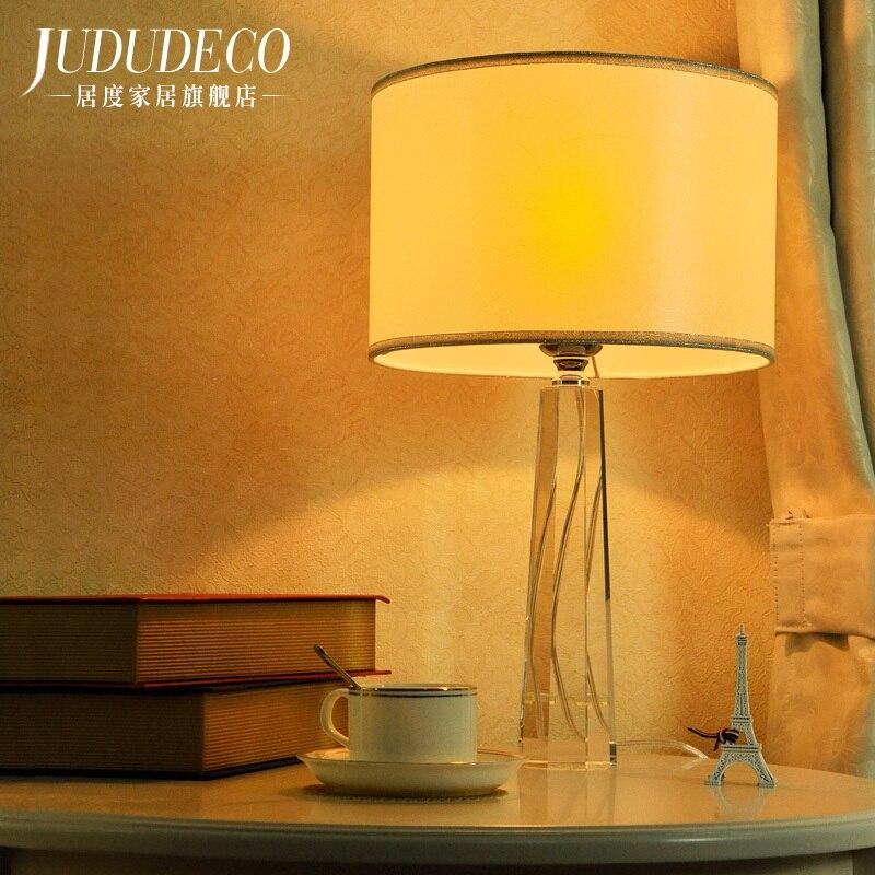 Japenese настольная лампа Европейский исследование ночники настольная лампа Европейский кристалл настольные лампы, украшения для спальни гос...