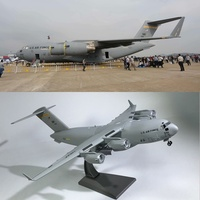 1/200 Military Model Toys USAF C 17 Tactical Transport Aircraft Diecast Metal Plane Model Toy toys for children