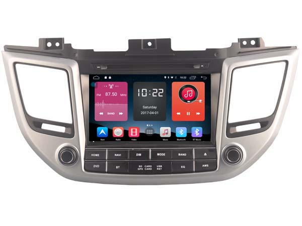 Android 6.0 CAR Audio DVD player FOR HYUNDAI ix35 TUCSON 2016 gps car Multimedia head device unit receiver support 4G BT WIFI
