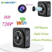 Wifi IP Mini Camera Wireless HD 1080P Infrared Micro Camcorders IR Night Vision Action Camera Portable