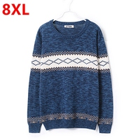 Spring And Autumn Add Fertilizer Increased Large Code Tide Fat People Male European Version Of 8XL