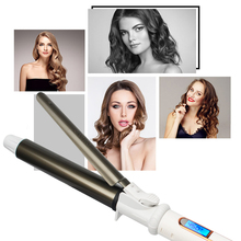 LED Digital Temperature Display Curling Iron Roller