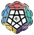 Dayan Megaminx Dodecaedro Magic Cube Puzzle Cube com Canto Ridges Preto Grande Crianças Educacionais Brinquedo Sinuosa