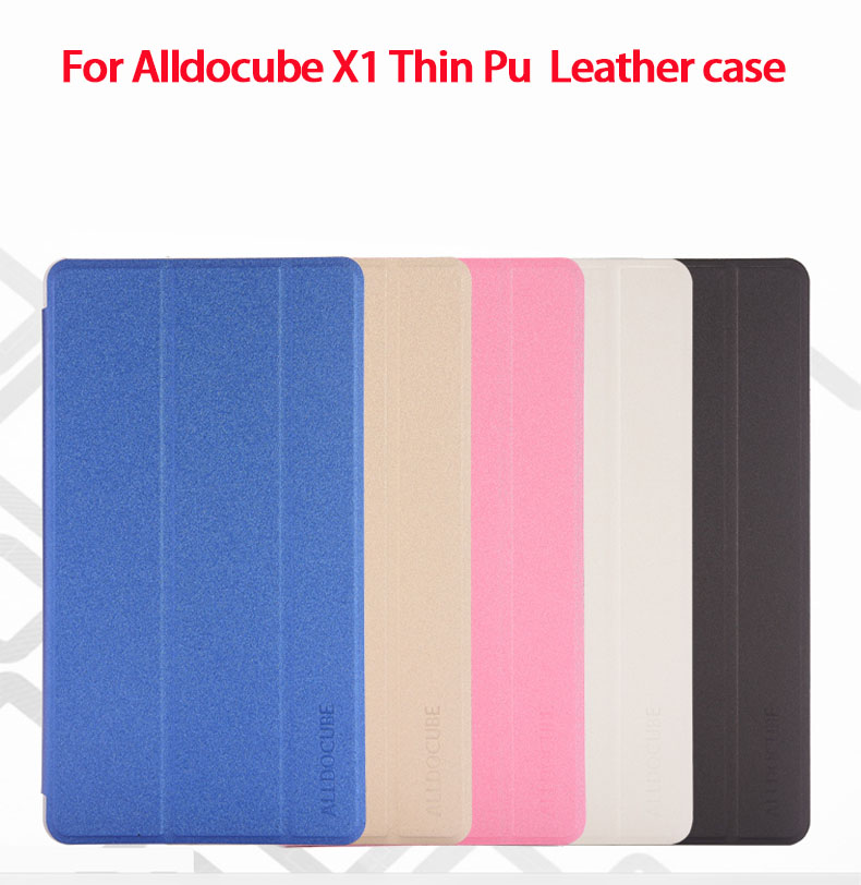 Alldocube X1 Leather Case Cover Ultra thin Stand Flip Case For Cube X1 8.4 inch Tablet PC for alldocube cube iwork8 ultimate iwork8 air pro protective case flip pu leather case for cube iwork8 air 8tablet pc
