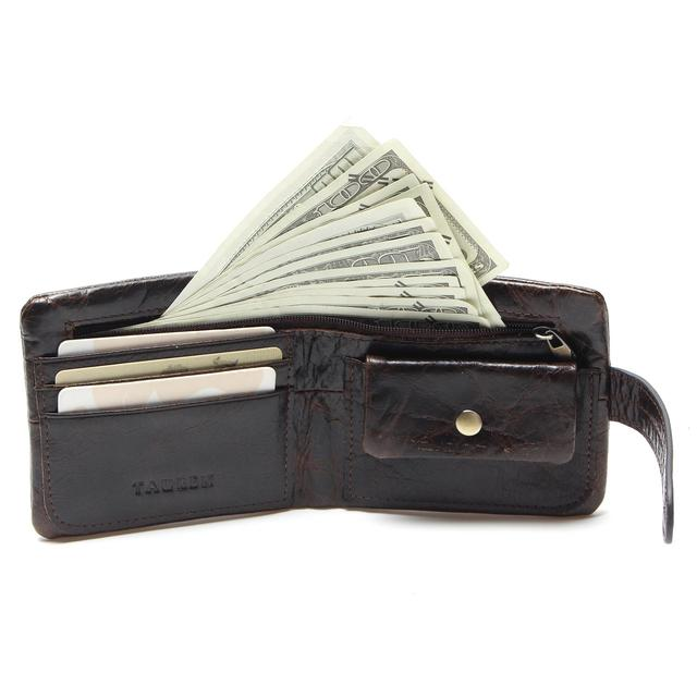 Men Bifold  Leather Wallet