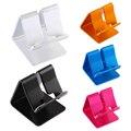 7x7x6 cm aleación de aluminio de escritorio mesa de escritorio del sostenedor del soporte para la tableta del teléfono celular/ipad/e-book fw1s