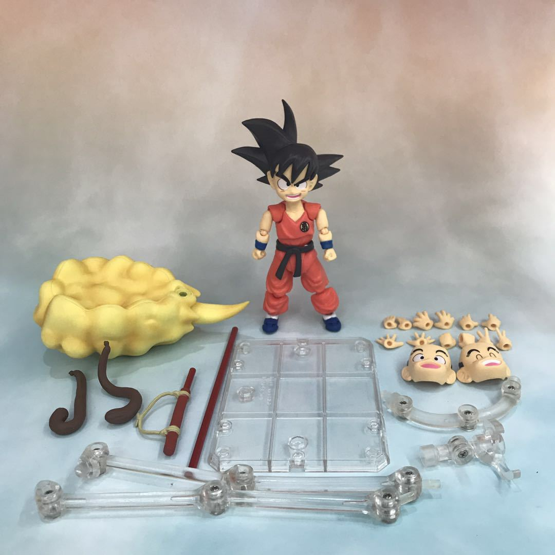 Dragon Ball Young Son Goku on Flying Nimbus Action Figure 9