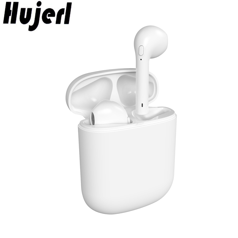 Real HBQ Mini i8 Bluetooth Earphone Hands Free Mic Wireless Bluetooth Headphone TWS Earbuds Bluetooth with Magnetic Charging Box