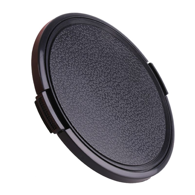 <font><b>67</b></font>/72/77/82/95/105MM Universal Plastic Clip On Front <font><b>Lens</b></font> <font><b>Cap</b></font> Protective Cover for Canon Nikon Pentax DSLR Camera Filter Accesso image