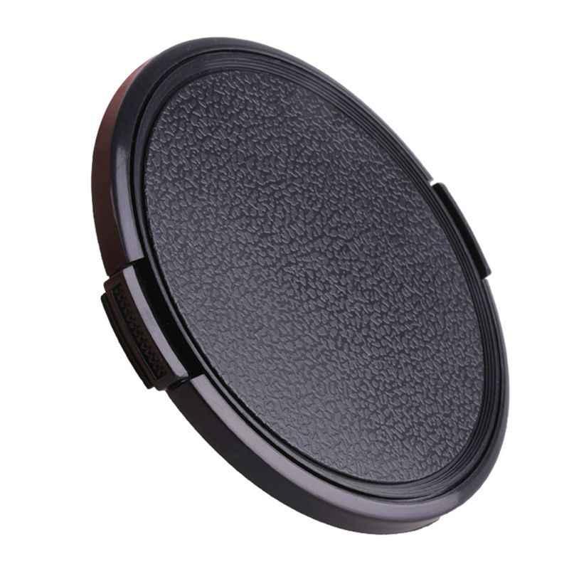67/72/77/82/95/105 MM Evrensel plastik klips On Ön Lens Kapağı Koruyucu Kapak canon Nikon Pentax DSLR Kamera için Filtre Accesso