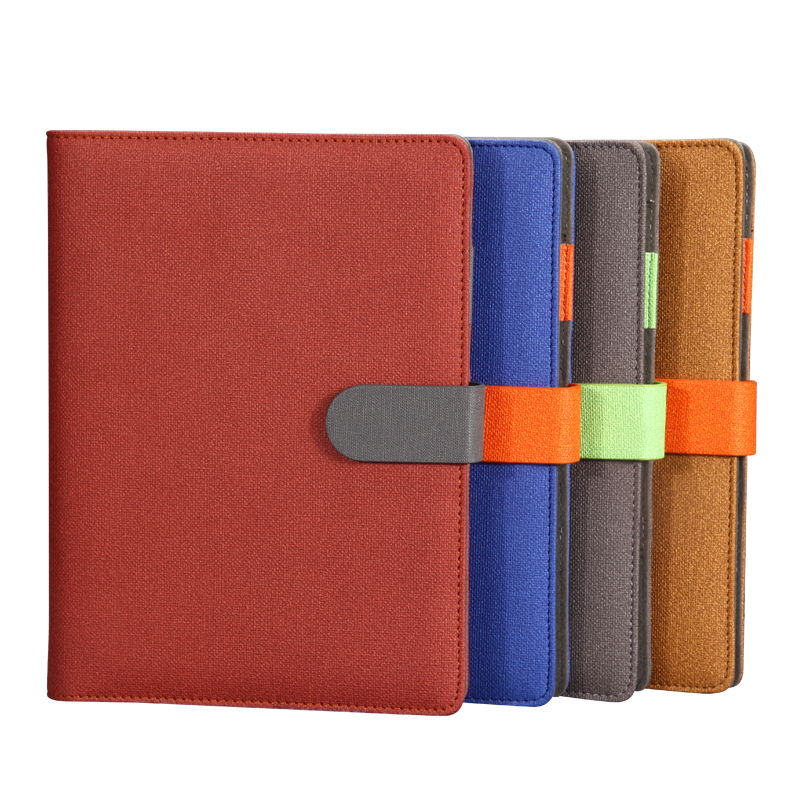 RuiZe business office notebook A5 B5 spiral notepad planner organizer leather cover stationery ring binder loose leaf note book