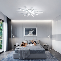 Modern Acrylic LED Chandeliers for home