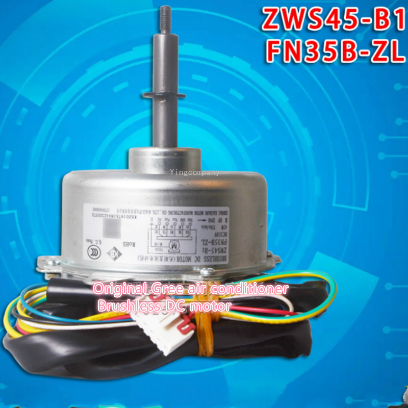 Original new Gree air conditioner Brushless DC motor Indoor unit motor for Gree air conditioner ZWS45-B1 FN35B-ZL parts ланч бокс iris basic mylunchbag цвет фиолетовый 3 8 л