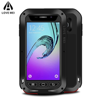 LOVE MEI Metal Case For Samsung Galaxy A3 2016 A3100 A310F A310 Powerful Aluminum Shockproof Life